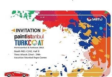 Bienvenido a visitarnos en la exposición Paintistanbul & Turkcoat