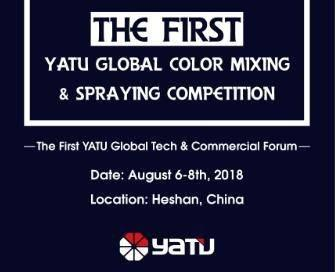 WELLCOME TO THE FIRST YATU GLOBAL COLOR MIXING & SPRAYING COMPETITION