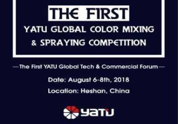 WELCOME TO THE FIRST YATU GLOBAL COLOR MIXING & SPRAYING COMPETITION
