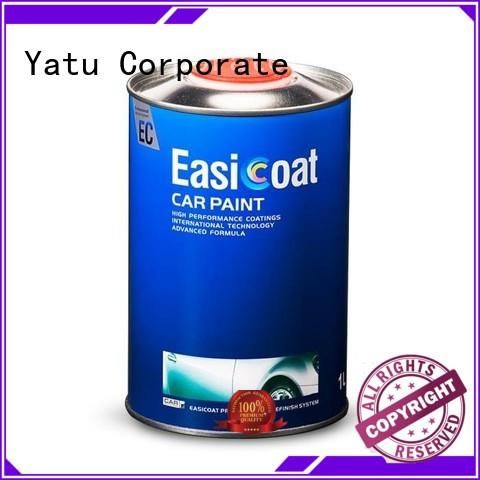 Easicoat solid quality car paint topcoat for vehicle