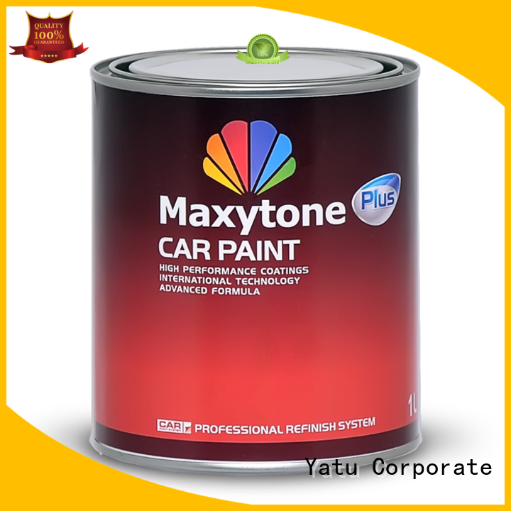 clear water based auto paint industrial for decoration
