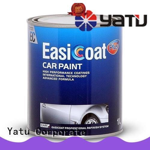 metallic car paint coating easicoat clear coat for vehicle