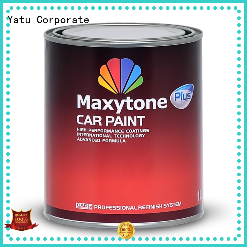 car waterborne car paint car solid color for vehicle