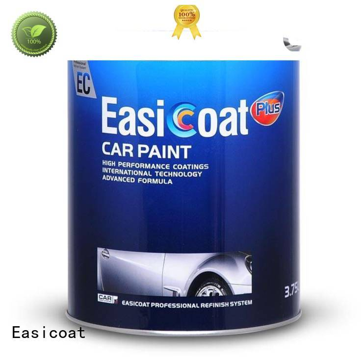Easicoat thinner auto paint colors topcoat for car factory
