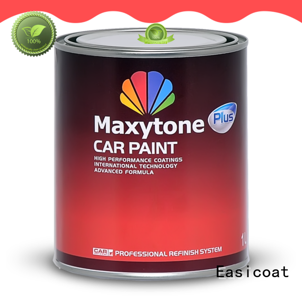 clear auto paint repair epoxy solid color for wholesale