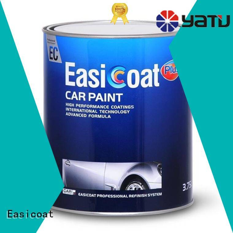 Easicoat solid color new car paint protection clear coat for vehicle