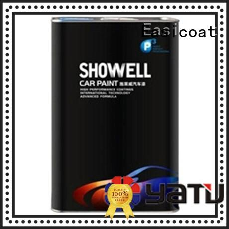 Easicoat hot-sale black spray paint showell for wholesale