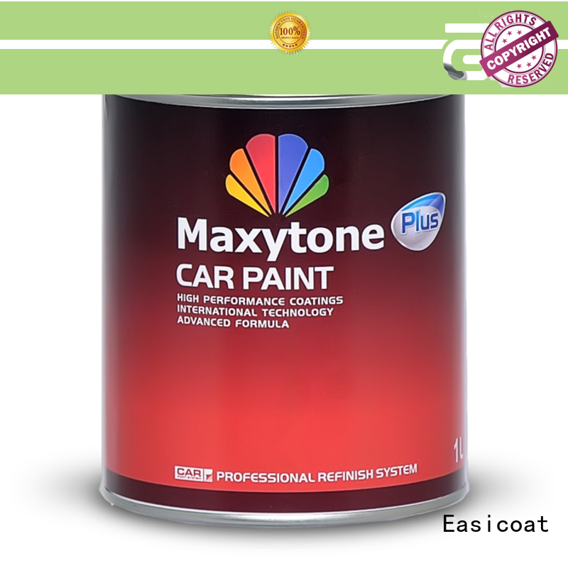 Easicoat fast dry waterborne car paint solid color for decoration