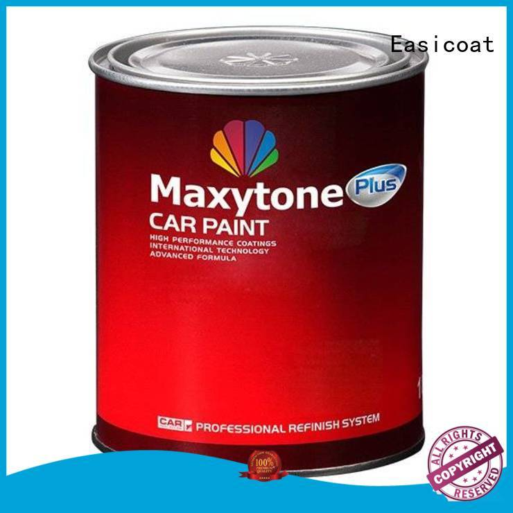 clear good car paint universal car refinishing