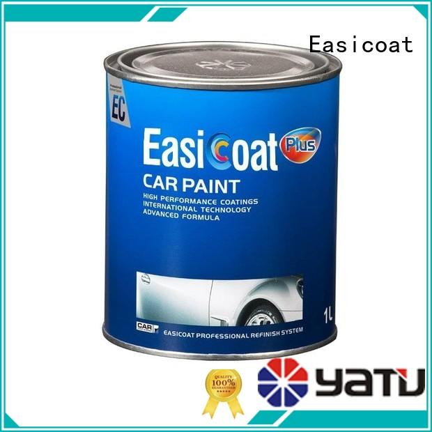 Easicoat topcoat clear spray paint auto paint