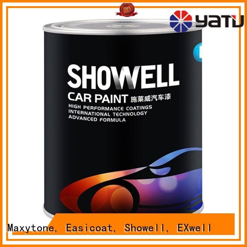 Quality Maxytone, Easicoat, Showell, EXwell Brand auto refinish epoxy coat