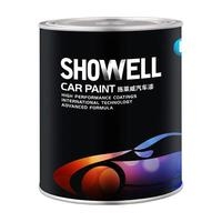 Showell SW-1K Basecoat Colors car paint