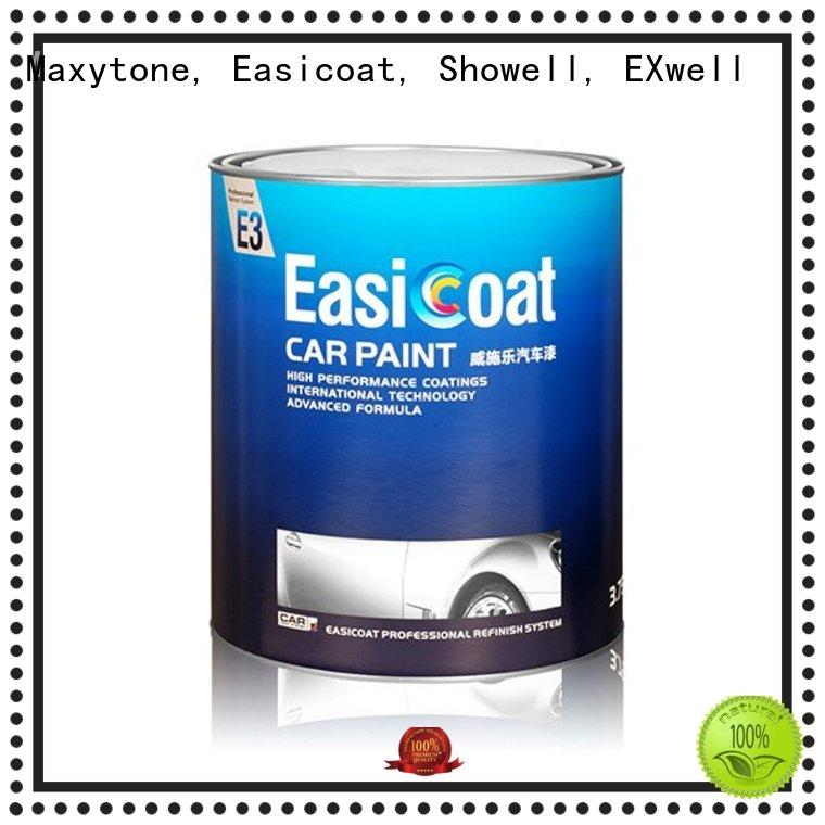 Maxytone, Easicoat, Showell, EXwell Brand car series solid auto refinish paint metallic