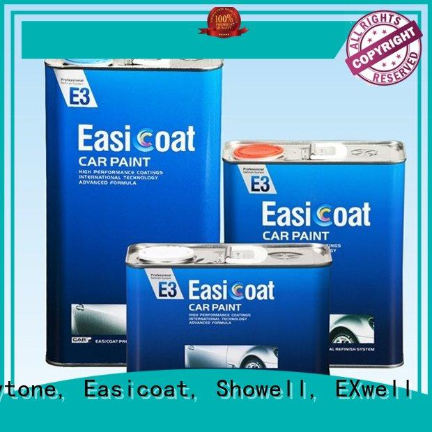 Quality Maxytone, Easicoat, Showell, EXwell Brand protection quality auto paint colors