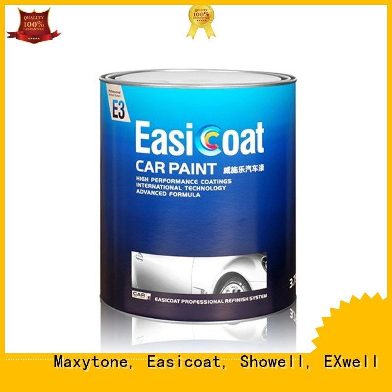 protection auto refinish paint metallic paint Maxytone, Easicoat, Showell, EXwell Brand