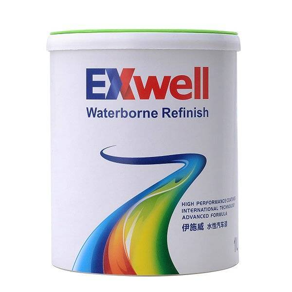 Exwell WB110 1K Solid Colors auto paint