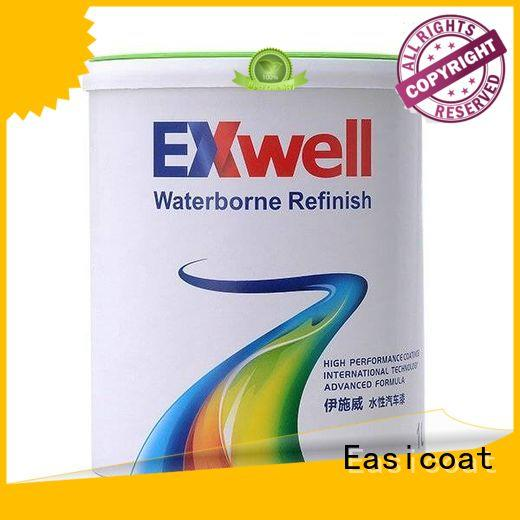 Easicoat auto pearl white car paint flip for wholesale