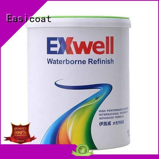 Easicoat solid pearl white car paint silver for decoration