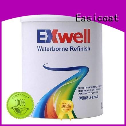 Exwell WB810 1K Silver Colors car refinish