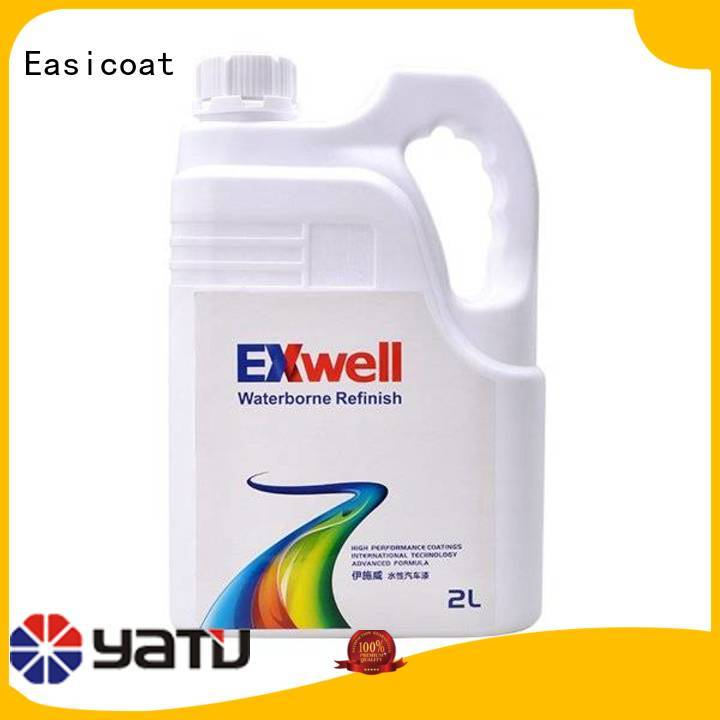 Easicoat coating car paint kit solid colors