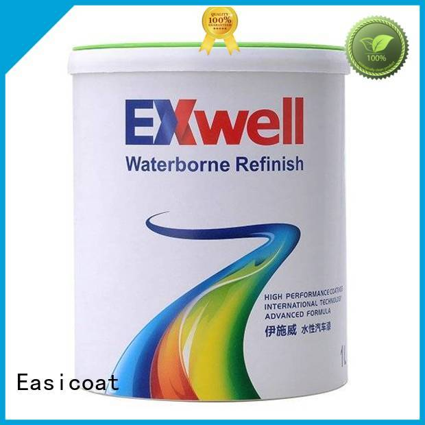 Easicoat popular black car paint silver